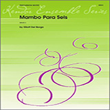 Download or print Houllif Mambo Para Seis - Percussion 4 Sheet Music Printable PDF 2-page score for Classical / arranged Percussion Ensemble SKU: 324125.