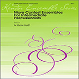 Download Houllif 'More Contest Ensembles For Intermediate Percussionists - Percussion 2' Printable PDF 1-page score for Classical / arranged Percussion Ensemble SKU: 327895.