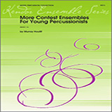 Download or print Houllif More Contest Ensembles For Young Percussionists - Percussion 3 and 4 Sheet Music Printable PDF 10-page score for Classical / arranged Percussion Ensemble SKU: 324113.