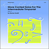 Download or print Houllif More Contest Solos For The Intermediate Timpanist Sheet Music Printable PDF 13-page score for Classical / arranged Percussion Solo SKU: 124796.