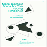 Download or print Houllif More Contest Solos For The Young Timpanist Sheet Music Printable PDF 13-page score for Classical / arranged Percussion Solo SKU: 124791.