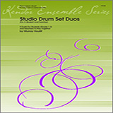 Download or print Houllif Studio Drum Set Duos (For A Student And Teacher) Sheet Music Printable PDF 18-page score for Classical / arranged Percussion Ensemble SKU: 124762.