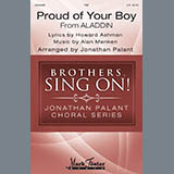 Download Howard Ashman and Alan Menken 'Proud Of Your Boy (from Aladdin: The Broadway Musical) (arr. Jonathan Palant)' Printable PDF 10-page score for Disney / arranged TBB Choir SKU: 430103.