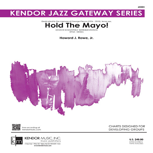 Easily Download Howard Rowe Printable PDF piano music notes, guitar tabs for Jazz Ensemble. Transpose or transcribe this score in no time - Learn how to play song progression.
