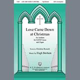 Download or print Hugh Benham Love Came Down At Christmas Sheet Music Printable PDF 5-page score for Christmas / arranged SATB Choir SKU: 431021.
