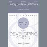 Download Hywel Davies 'Holiday Carols for SAB Choirs' Printable PDF 16-page score for Christmas / arranged SAB Choir SKU: 417155.