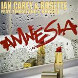 Download Ian Carey & Rosette 'Amnesia (feat. Timbaland and Brasco)' Printable PDF 6-page score for Pop / arranged Piano, Vocal & Guitar (Right-Hand Melody) SKU: 114384.