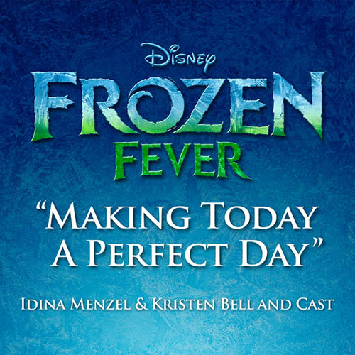 Easily Download Idina Menzel & Kristen Bell and Cast Printable PDF piano music notes, guitar tabs for  Piano, Vocal & Guitar (Right-Hand Melody). Transpose or transcribe this score in no time - Learn how to play song progression.