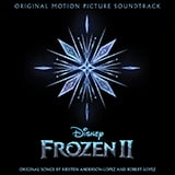 Download or print Idina Menzel and AURORA Into The Unknown (from Disney's Frozen 2) Sheet Music Printable PDF 4-page score for Disney / arranged Big Note Piano SKU: 433045.