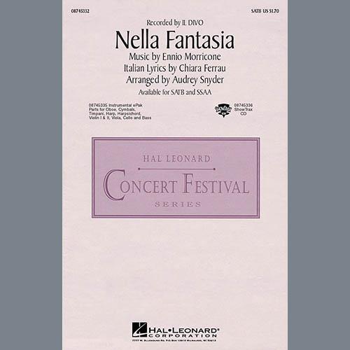 Il Divo, Nella Fantasia (In My Fantasy) (arr. Audrey Snyder) - Viola, Choir Instrumental Pak