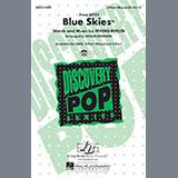 Download Irving Berlin 'Blue Skies (arr. Roger Emerson)' Printable PDF 7-page score for Jazz / arranged 2-Part Choir SKU: 426036.