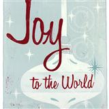 Download or print Isaac Watts Joy To The World Sheet Music Printable PDF 2-page score for Christmas / arranged Big Note Piano SKU: 84585.