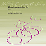 Download J.S. Bach 'Contrapunctus IX (arr. Richard Fote) - Horn in F' Printable PDF 2-page score for Classical / arranged Brass Ensemble SKU: 405072.