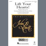 Download or print J.S. Bach Lift Your Hearts! (arr. John Leavitt) Sheet Music Printable PDF 7-page score for Classical / arranged 2-Part Choir SKU: 407601.