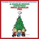 Download or print Vince Guaraldi Christmas Time Is Here Sheet Music Printable PDF 2-page score for Children / arranged Guitar Ensemble SKU: 165598.