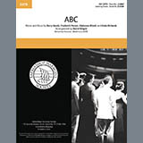 Download Jackson 5 'ABC (arr. David Wright)' Printable PDF 9-page score for Barbershop / arranged SATB Choir SKU: 432504.