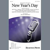 Download or print Jacob Narverud New Year's Day Sheet Music Printable PDF 21-page score for A Cappella / arranged TTBB Choir SKU: 179903.