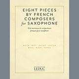 Download or print Jacques Ibert Aria Sheet Music Printable PDF 4-page score for Classical / arranged Alto Sax and Piano SKU: 442650.