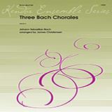 Download or print James Christensen Three Bach Chorales - Trombone Sheet Music Printable PDF 1-page score for Concert / arranged Brass Ensemble SKU: 373897.