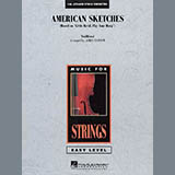 Download James Curnow 'American Sketches - Piano' Printable PDF 2-page score for Concert / arranged Orchestra SKU: 283075.