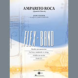 Download James Curnow 'Amparito Roca (Spanish March) - Pt.5 - Bb Bass Clarinet' Printable PDF 2-page score for Spanish / arranged Concert Band SKU: 361877.