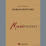 Download James Curnow 'Dublin Sketches - Bb Clarinet 3' Printable PDF 4-page score for Irish / arranged Concert Band SKU: 355688.