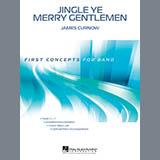 Download or print James Curnow Jingle Ye Merry Gentlemen - Eb Alto Saxophone Sheet Music Printable PDF 1-page score for Christmas / arranged Concert Band SKU: 329082.