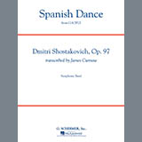Download James Curnow 'Spanish Dance (from The Gadfly) - Euphonium in Bass Clef' Printable PDF 2-page score for Classical / arranged Concert Band SKU: 331683.