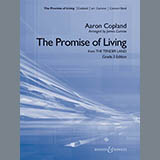 Download or print James Curnow The Promise Of Living (from The Tender Land) - Baritone B.C. Sheet Music Printable PDF 2-page score for American / arranged Concert Band SKU: 308479.