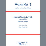 Download James Curnow 'Waltz No. 2 (from Suite For Variety Stage Orchestra) - Eb Baritone Saxophone' Printable PDF 2-page score for Classical / arranged Concert Band SKU: 291725.