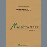Download James Curnow 'Whirligigs - Marching Machine' Printable PDF 1-page score for Concert / arranged Concert Band SKU: 329839.