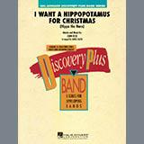Download or print James Kazik I Want A Hippopotamus For Christmas - Baritone B.C. Sheet Music Printable PDF 1-page score for Christmas / arranged Concert Band SKU: 300489.