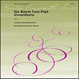 Download or print James Moore Six Bach Two Part Inventions Sheet Music Printable PDF 12-page score for Concert / arranged Percussion Ensemble SKU: 486028.
