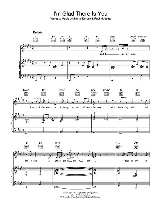 Jamie Cullum I'm Glad There Is You (In This World Of Ordinary People) sheet music notes and chords. Download Printable PDF.