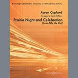 Download Jamin Hoffman 'Prairie Night And Celebration (from Billy The Kid) - Conductor Score (Full Score)' Printable PDF 10-page score for Classical / arranged Orchestra SKU: 286722.