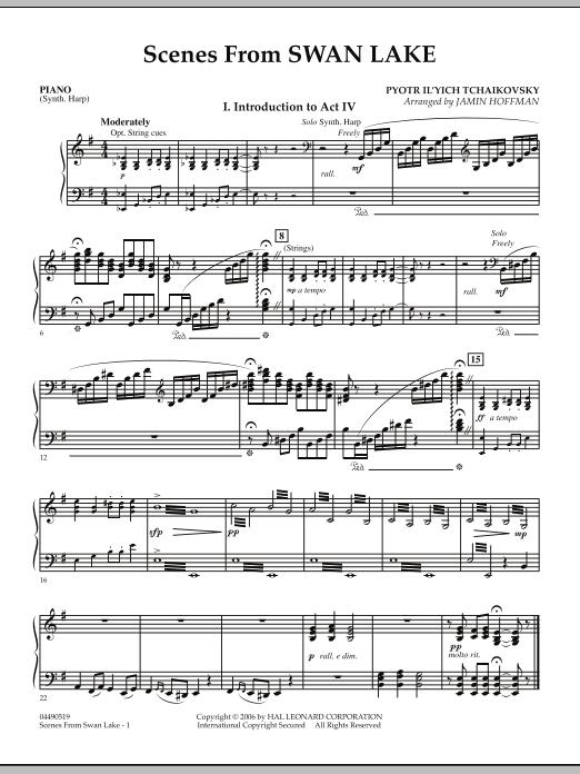 Jamin Hoffman Scenes from Swan Lake - Piano sheet music notes and chords. Download Printable PDF.