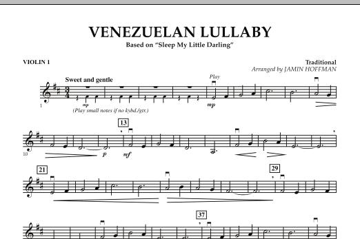 Jamin Hoffman Venezuelan Lullaby - Violin 1 sheet music notes and chords