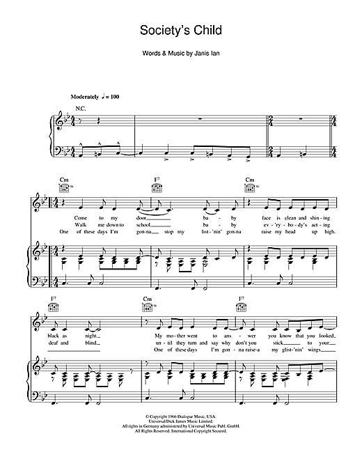The Janis Ian Guitar Songbook Guitar TAB Edition Music Book