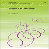Download or print Jared Spears Jazzers On The Loose - Full Score Sheet Music Printable PDF 19-page score for Jazz / arranged Percussion Ensemble SKU: 325741.