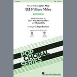 Download Jason Mraz '93 Million Miles (arr. Roger Emerson)' Printable PDF 13-page score for Pop / arranged 2-Part Choir SKU: 421709.