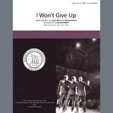 Download Jason Mraz 'I Won't Give Up (arr. Marshall Webb)' Printable PDF 10-page score for Barbershop / arranged TTBB Choir SKU: 407070.