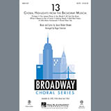 Download Jason Robert Brown '13 (Choral Highlights From The Broadway Musical) (arr. Roger Emerson) - Bass' Printable PDF 8-page score for Musical/Show / arranged Choir Instrumental Pak SKU: 308538.