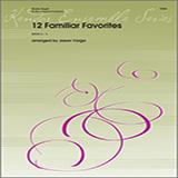 Download or print Jason Varga 12 Familiar Favorites Sheet Music Printable PDF 28-page score for Concert / arranged Brass Ensemble SKU: 376456.
