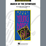 Download Jay Bocook 'March Of The Olympians - Mallet Percussion' Printable PDF 1-page score for Olympics / arranged Concert Band SKU: 286840.