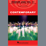 Download Jay Bocook 'Stadium Jams Volume 11 - Aux Percussion' Printable PDF 1-page score for Pop / arranged Marching Band SKU: 365276.