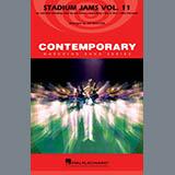 Download Jay Bocook 'Stadium Jams Volume 11 - Baritone B.C.' Printable PDF 1-page score for Pop / arranged Marching Band SKU: 365267.