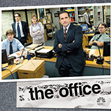 Download or print Jay Ferguson The Office - Theme Sheet Music Printable PDF 1-page score for Film/TV / arranged Big Note Piano SKU: 423554.