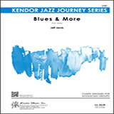 Download or print Jeff Jarvis Blues & More - Drum Set Sheet Music Printable PDF 3-page score for Jazz / arranged Jazz Ensemble SKU: 404996.
