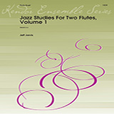 Download Jeff Jarvis 'Jazz Studies For Two Flutes, Volume 1' Printable PDF 10-page score for Jazz / arranged Woodwind Ensemble SKU: 373495.