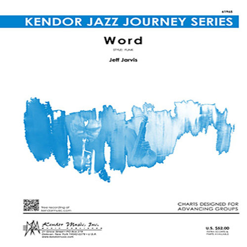 Easily Download Jeff Jarvis Printable PDF piano music notes, guitar tabs for Jazz Ensemble. Transpose or transcribe this score in no time - Learn how to play song progression.